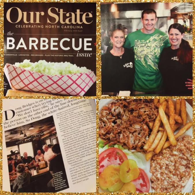 Our State Magazine - February 2016 Barbecue Issue