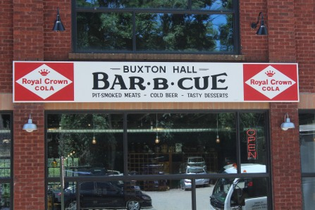 Buxton Hall Bar-B-Que