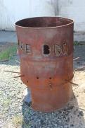 B urn barrel